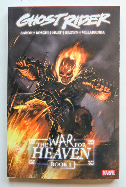 Ghost Rider The War For Heaven Vol. 1 Marvel Graphic Novel Comic Book