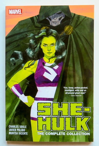 She-Hulk The Complete Collection Marvel Graphic Novel Comic Book