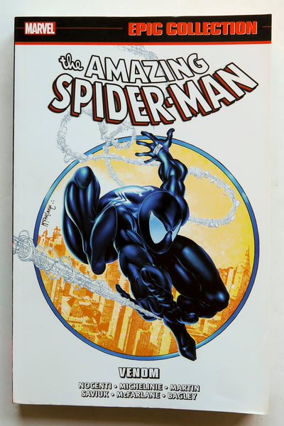 Amazing Spider-Man Venom Epic Collection Marvel Graphic Novel Comic Book