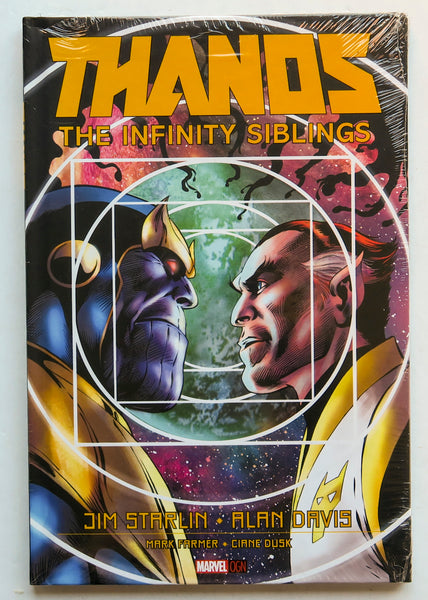 Thanos The Infinity Siblings Marvel OGN Graphic Novel Comic Book