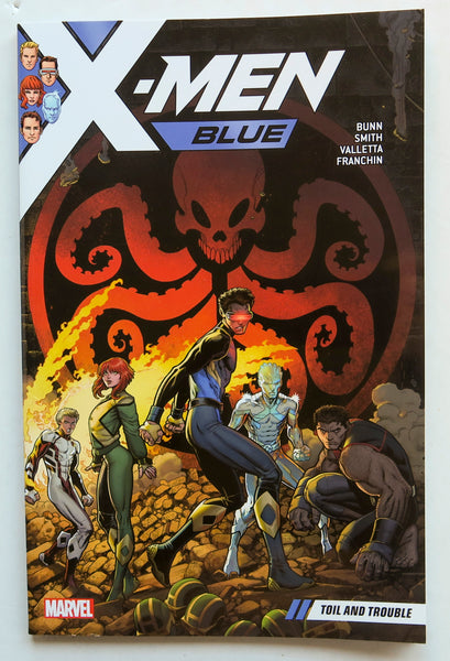 X-Men Blue Vol. 2 Toil and Trouble Marvel Graphic Novel Comic Book