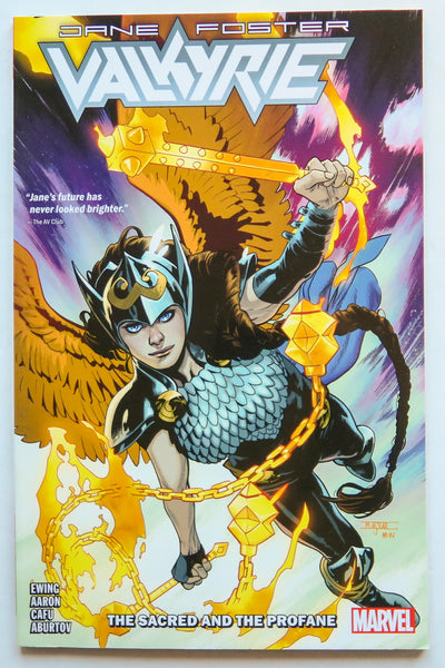 Valkyrie Jane Foster Vol. 1 The Sacred and The Profane Marvel Graphic Novel Comic Book