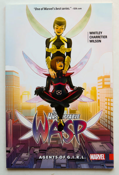 The Unstoppable Wasp Vol. 2 Agents of G.I.R.L. Marvel Graphic Novel Comic Book