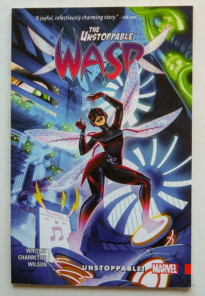The Unstoppable Wasp Vol. 1 Unstoppable Marvel Graphic Novel Comic Book
