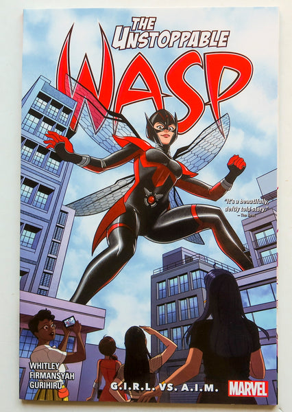 The Unstoppable Wasp Unlimited Vol. 2 G.I.R.L.S. VS. A.I.M. Marvel Graphic Novel Comic Book