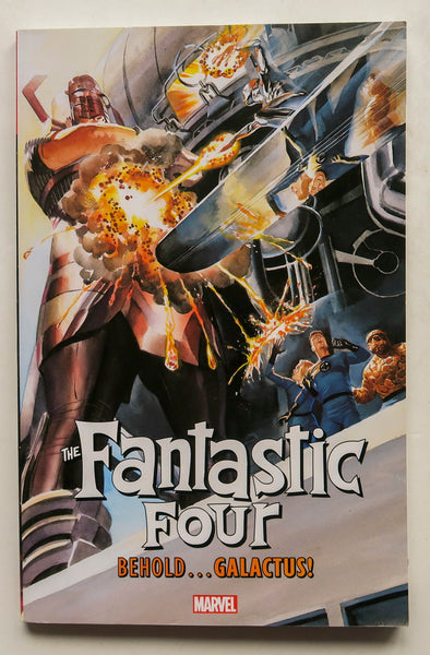 The Fantastic Four Behold Galactus Marvel Graphic Novel Comic Book