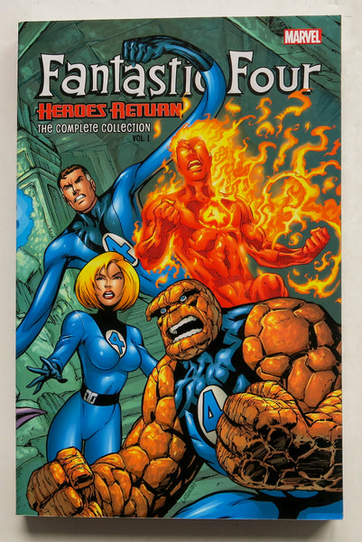 Fantastic Four Heroes Return The Complete Collection 1 Marvel Graphic Novel Comic Book