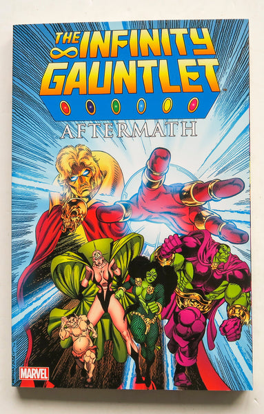 Infinity Gauntlet Aftermath Marvel Graphic Novel Comic Book