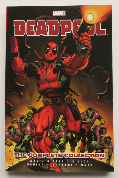 Deadpool The Complete Collection 1 Daniel Way Marvel Graphic Novel Comic Book