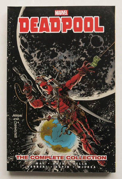 Deadpool The Complete Collection 3 Daniel Way Marvel Graphic Novel Comic Book