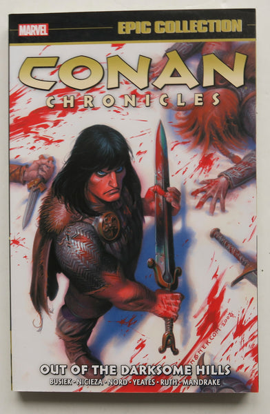 Conan Chronicles Out of the Darksome Hills Marvel Epic Collection Graphic Novel Comic Book