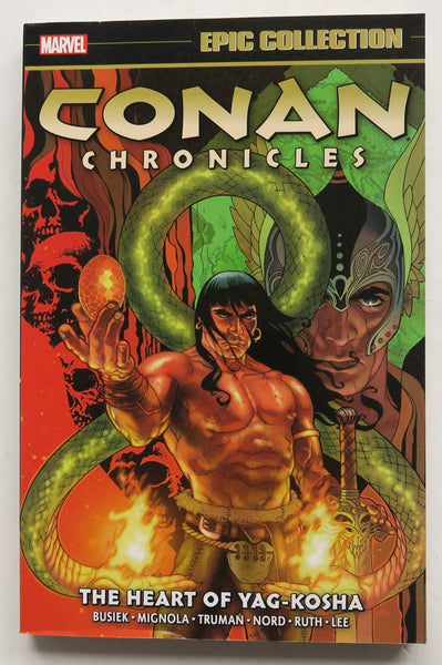 Conan Chronicles The Heart of Yag-Kosha Marvel Epic Collection Graphic Novel Comic Book