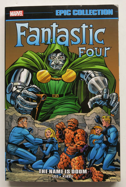 Fantastic Four The Name Is Doom Marvel Epic Collection Graphic Novel Comic Book