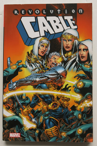 Cable Revolution Marvel Graphic Novel Comic Book