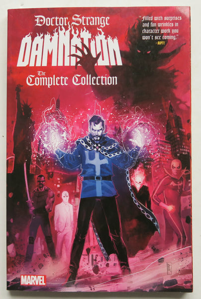 Doctor Strange Damnation The Complete Collection Marvel Graphic Novel Comic Book