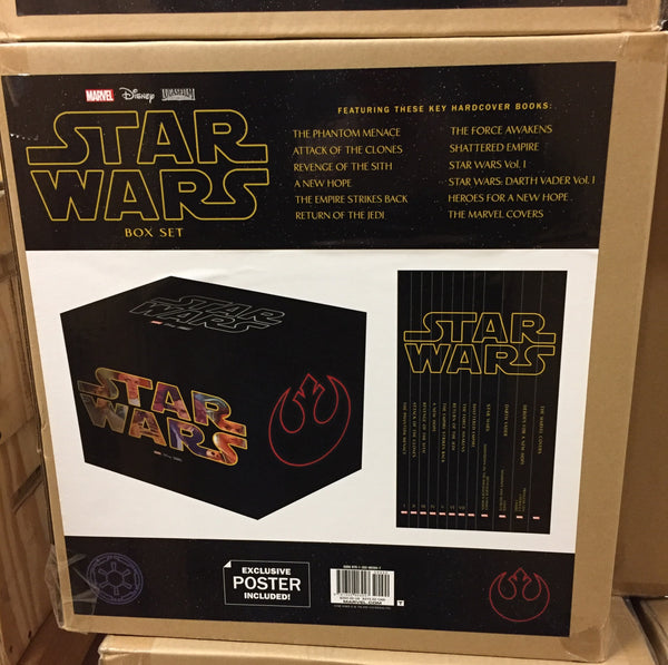 Star Wars Marvel Graphic Novel Comic Book Box Set Slip Case Edition