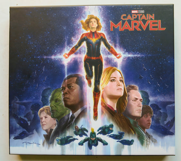 The Art of Captain Marvel Marvel Studios Art Book