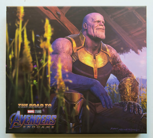 The Road to Avengers Endgame The Art of the Marvel Cinematic Universe Marvel Studios Art Book
