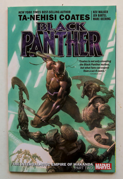Black Panther The Intergalactic Empire of Wakanda Part Two Volume 7 Marvel Graphic Novel Comic Book