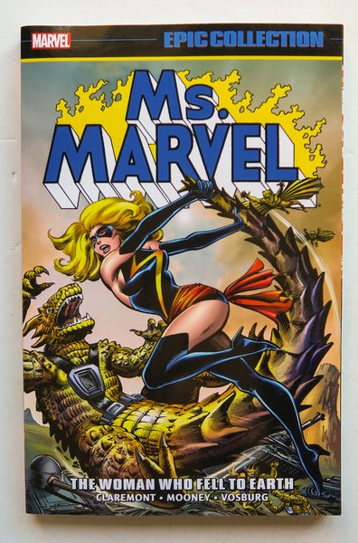 Ms. Marvel The Woman Who Fell To Earth Marvel Epic Collection Graphic Novel Comic Book