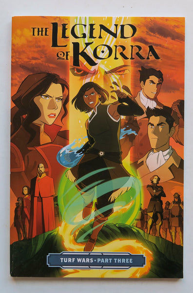 The Legend of Korra Turf Wars Part Three 3 Nickelodeon Dark Horse Kids Childrens Graphic Novel Comic Book