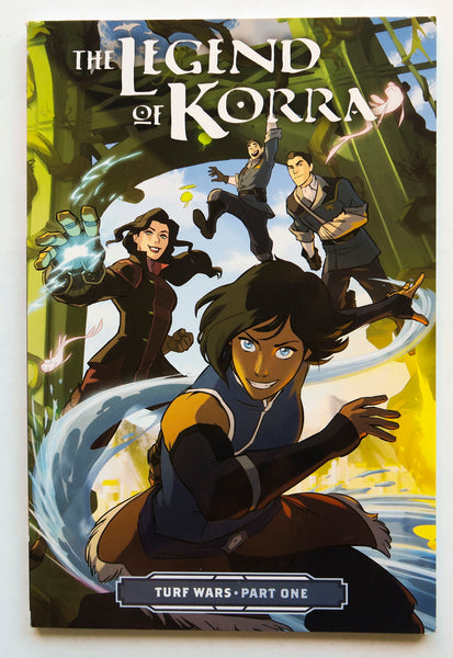 The Legend of Korra Turf Wars Part One 1 Nickelodeon Dark Horse Kids Childrens Graphic Novel Comic Book