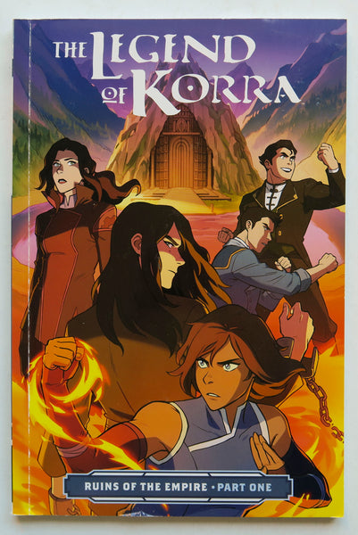 The Legend of Korra Ruins of the Empire Part One 1 Nickelodeon Dark Horse Graphic Novel Comic Book