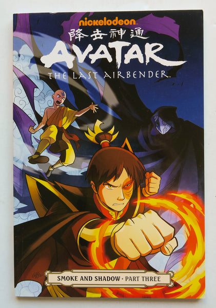Avatar The Last Air Bender Smoke and Shadow Part Three 3 Nickelodeon Dark Horse Kids Childrens Graphic Novel Comic Book