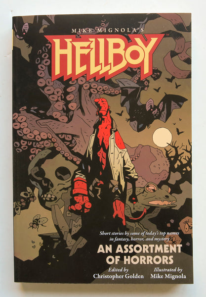 Mike Mignola's Hellboy An Assortment of Horrors Dark Horse Books Prose Novel Book