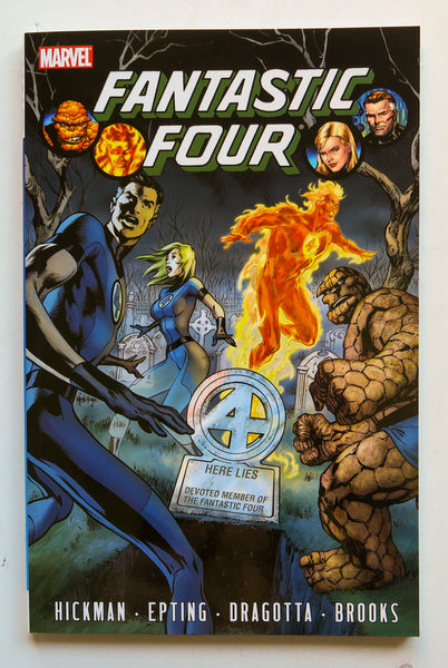 Fantastic Four Volume 4 Marvel Graphic Novel Comic Book
