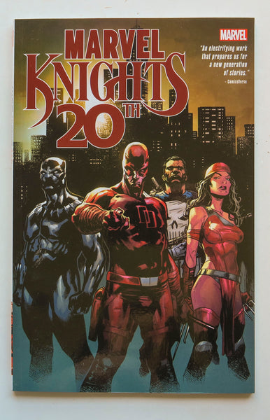 Marvel Knights 20th Graphic Novel Comic Book