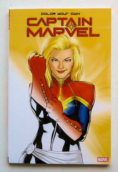 Color Your Own Captain Marvel Coloring Book