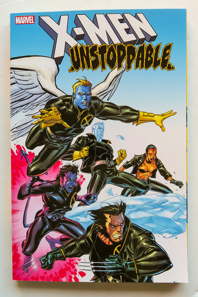 X-Men Unstoppable Marvel Graphic Novel Comic Book