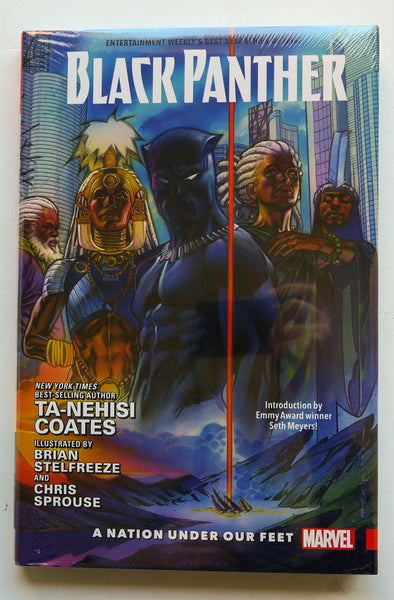 Black Panther A Nation Under Our Feet Volume 1 Marvel Graphic Novel Comic Book
