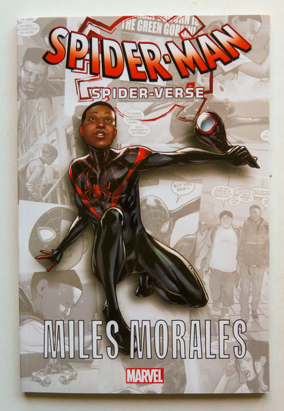 Spider-Man Spider-Verse Miles Morales Marvel Kids Childrens Graphic Novel Comic Book