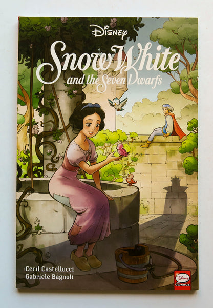Disney Snow White and the Seven Dwarves Dark Horse Kids Childrens Graphic Novel Comic Book