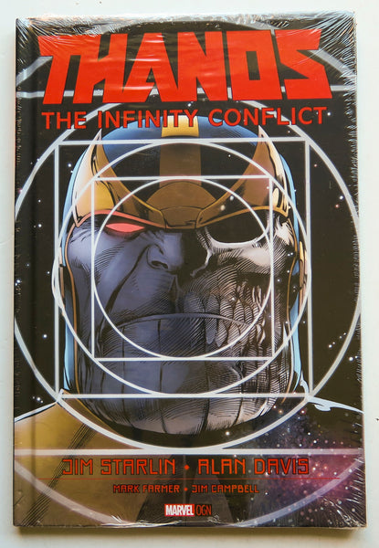 Thanos The Infinity Conflict Marvel OGN Graphic Novel Comic Book
