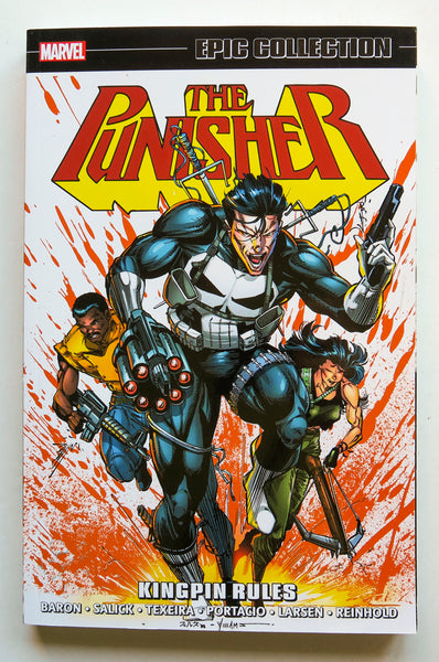 Punisher Kingpin Rules Marvel Epic Collection Graphic Novel Comic Book
