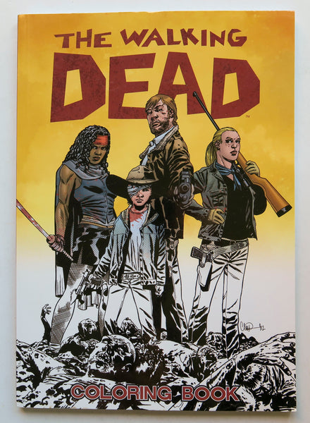 The Walking Dead Image Coloring Book
