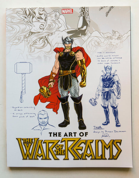 The Art of the War of the Realms Marvel Art Book