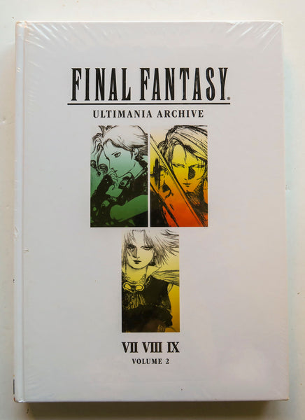 Final Fantasy Ultimania Archive VII VIII Volume 2 Dark Horse Art Book