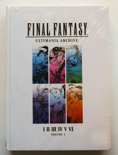 Final Fantasy Ultimania Archive I II III IV V VI Volume 1 Dark Horse Art Book