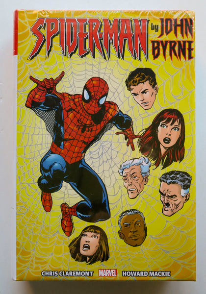 Spider-Man John Byrne Marvel Omnibus Graphic Novel Comic Book