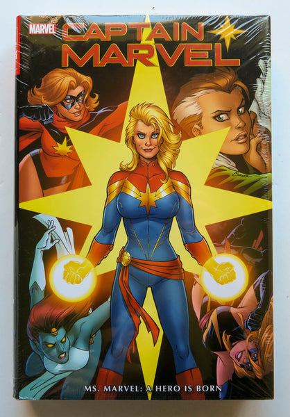 Captain Marvel A Hero is Born Marvel Omnibus Graphic Novel Comic Book