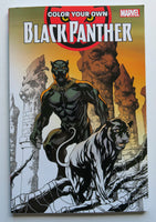 Color Your Own Black Panther Marvel Coloring Book