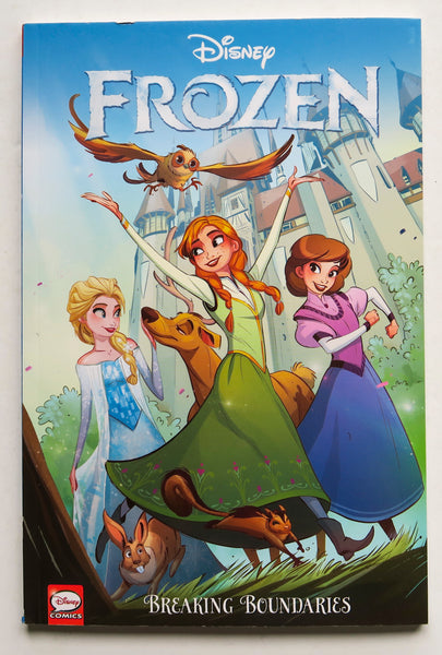 Disney Frozen Breaking Boundaries Dark Horse Kids Childrens Graphic Novel Comic Book