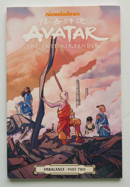 Avatar The Last Airbender Imbalance Part Two 2 Nickelodeon Dark Horse Kids Childrens Graphic Novel Comic Book