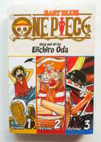 One Piece East Blue Volumes 1 2 & 3 Eiichiro Oda Shonen Jump Comics Viz Media Manga Book