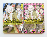 Danganronpa 2 Ultimate Luck and Hope and Despair Vol. 1 & 2 Dark Horse Manga Book Lot