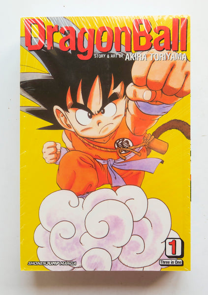 Dragon Ball Z Vizbig Edition 1 Three In One A Collection of Volumes 1-3 Akira Toriyama Shonen Jump Viz Media Manga Book